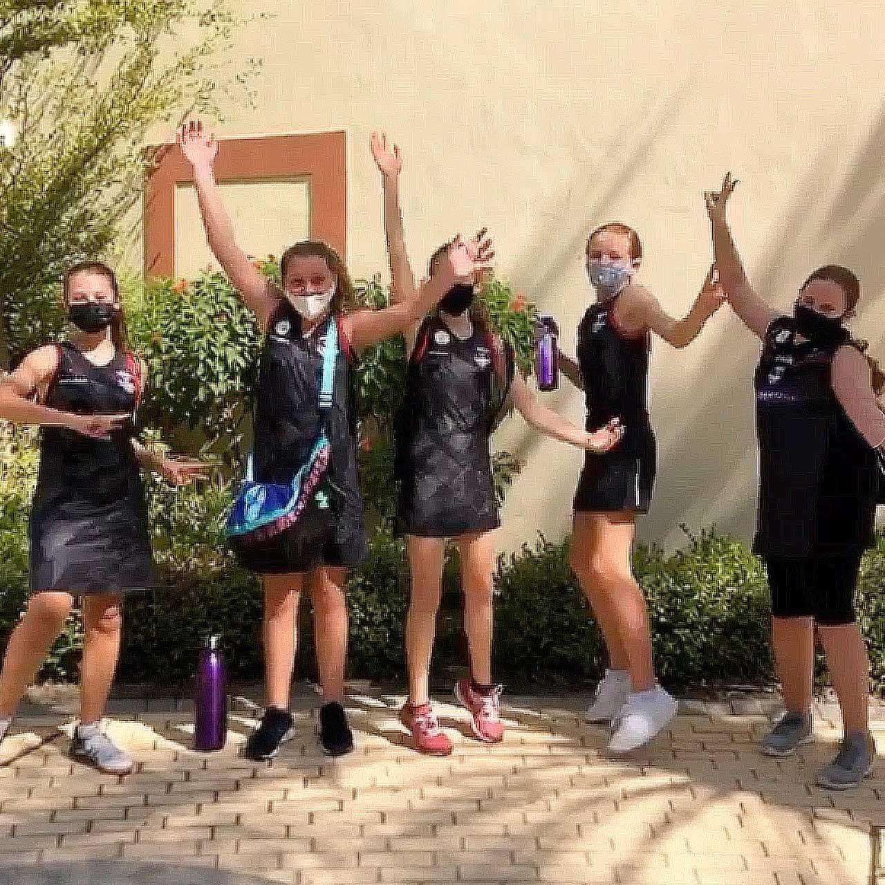 Dubai Exiles Netballers win their league